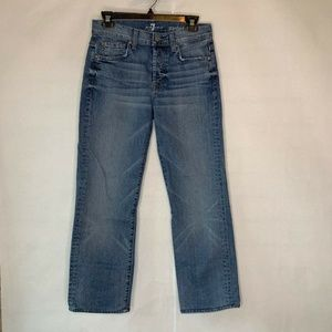 7 For All Mankind Standard Straight Leg Jeans 29